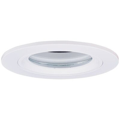 Die Cast Shower 3 LED Recessed Trim Trim Finish: White/Clear