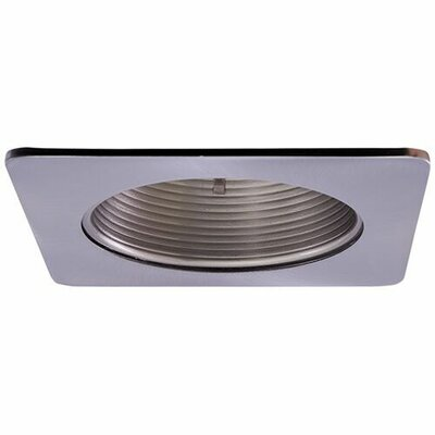 Adjustable Wall Wash Baffle 4 LED Recessed Trim Trim Finish: Nickel