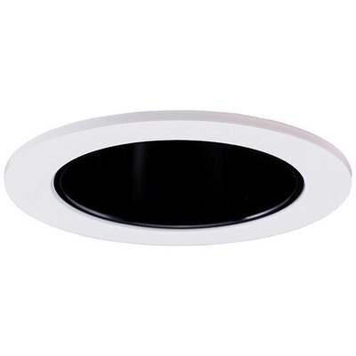 Adjustable Reflector Wall Wash 3 LED Recessed Trim Trim Finish: Black/White