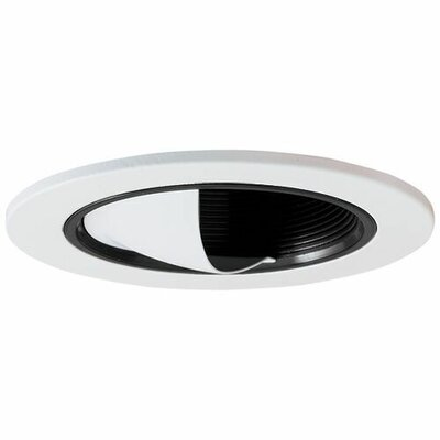 Adjustable Baffle Wall Wash 3 LED Recessed Trim Finish: Black/White