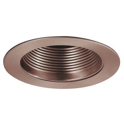 Phenolic Metal Baffle 4 Recessed Trim Finish: Copper