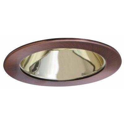 Low Voltage Adjustable Reflector 4 Recessed Trim Finish: Gold/Copper