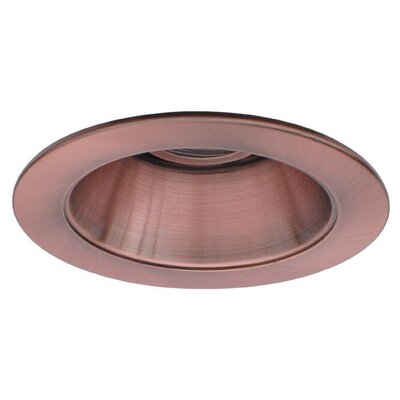 Low Voltage Adjustable Reflector 4 Recessed Trim Finish: Copper