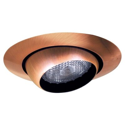 Eyeball 6 Recessed Trim Trim Finish: Copper/Clear