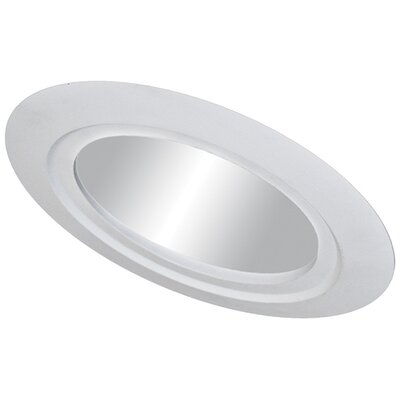 Sloped Reflector 5 Recessed Trim Trim Finish: White