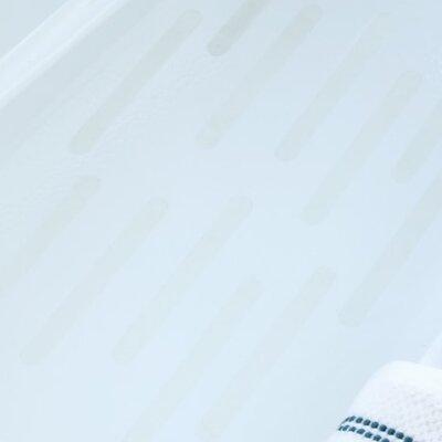 Adhesive Bath Tread Color: Clear