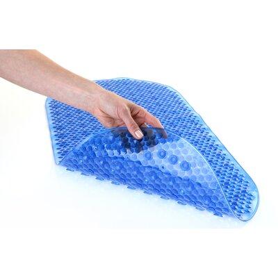 Bubble Bath Mat Color: Blue