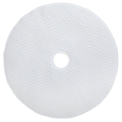 Comfort Foam Shower Mat Color: White