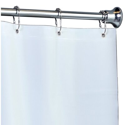 PEVA Shower Liner with Microban Color: White