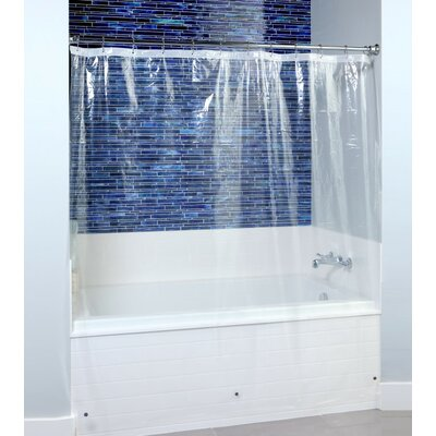 PEVA Shower Liner with Microban Color: Clear