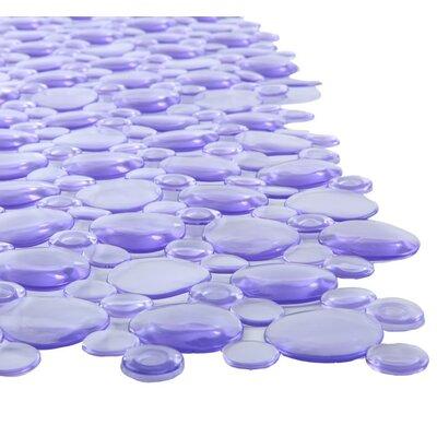Burst of Bubbles Bath Mat Color: Light Purple