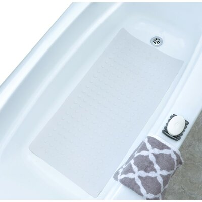 Safety Bath Mat Color: White