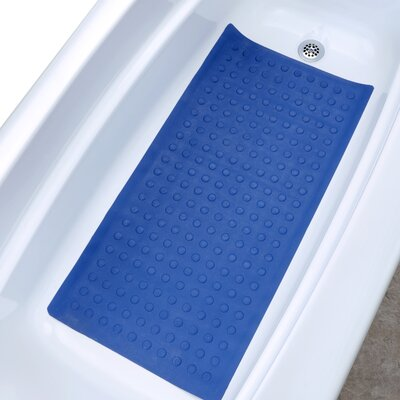 Safety Bath Mat Color: Blue