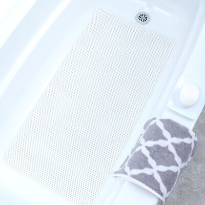 Comfort Foam Bath Mat Color: White