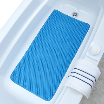 Comfort Foam Bath Mat Color: Blue