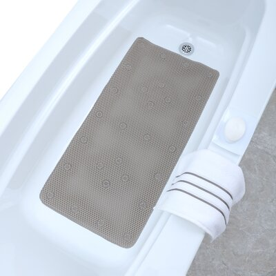 Comfort Foam Bath Mat Color: Tan