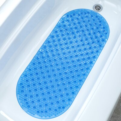Bubble Bath Mat Color: Blue