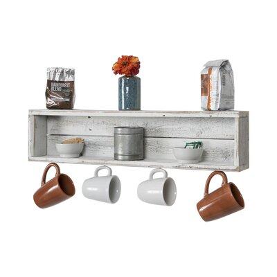 Coffee Cup Accent Shelf LNPK6066 38720456
