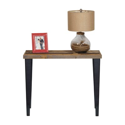 Ochoa Wood and Metal Console Table
