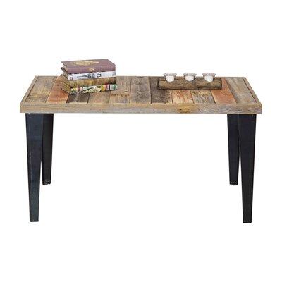 Ochoa Wood and Metal Coffee Table