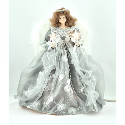 Silver/Gray Angel Tree Topper THDA2962 42233546