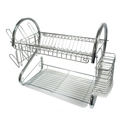 2 Tier Compact Dish Rack