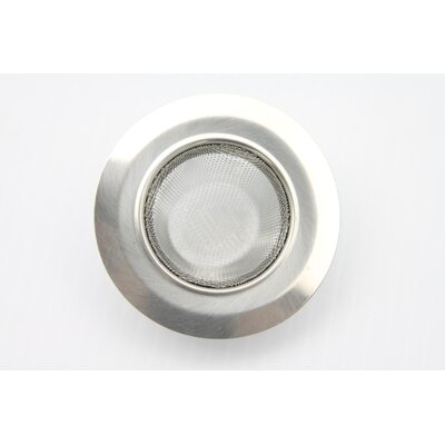 Stainless-Steel Kitchen Sink Strainer
