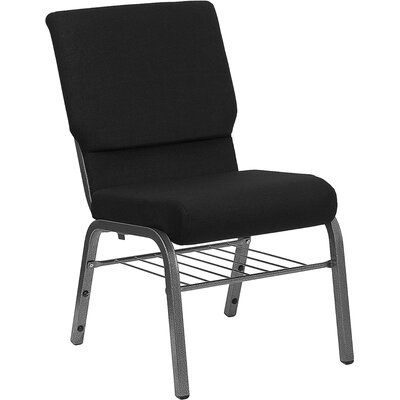 Taylor Church Chair Frame Finish: Silver Vein, Seat Color: Black