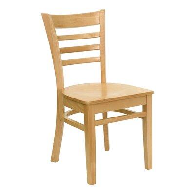 Osborne Side Chair Finish: Natural