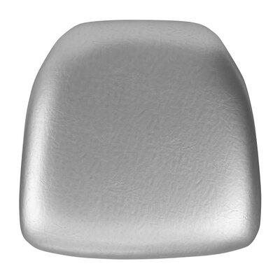 Chiavari Chair 2.75 Thick Hard Cushion Color: Silver