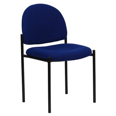 Stackable Reception Chair Seat Color: Navy