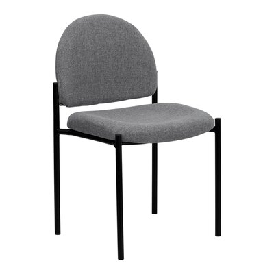 Stackable Reception Chair Seat Color: Gray