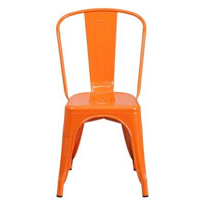 Side Chair Finish: Orange