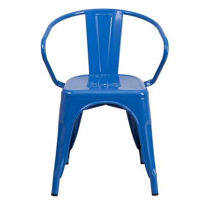 Arm Chair Finish: Blue