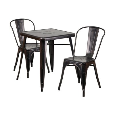 Cheap black dining room sets on sale 3 piece dining set for Cute dining room sets