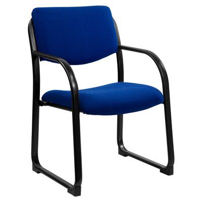 Executive Reception Chair Seat Color: Navy