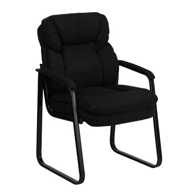 Executive Reception Chair Seat Color: Black