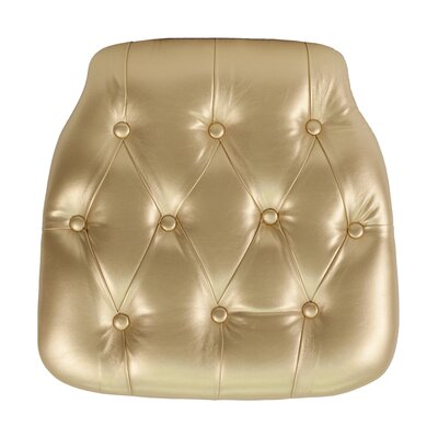 Chiavari Chair Cushion Color: Gold