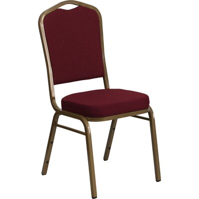 Taylor Crown Banquet Chair Frame Finish: Silver Vein, Seat Finish: Gray