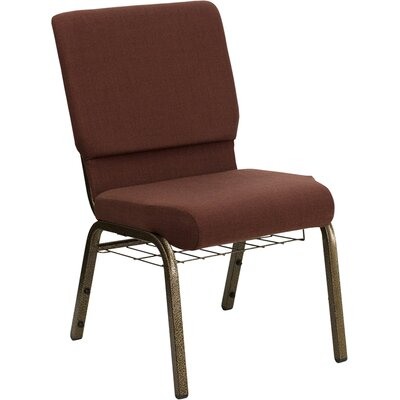 Taylor Church Chair Seat Color: Brown