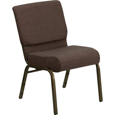 Taylor Stacking Church Chair Finish: Gold Vein, Seat Color: Brown