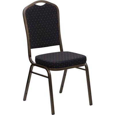 Taylor Crown Banquet Chair Seat Color: Black