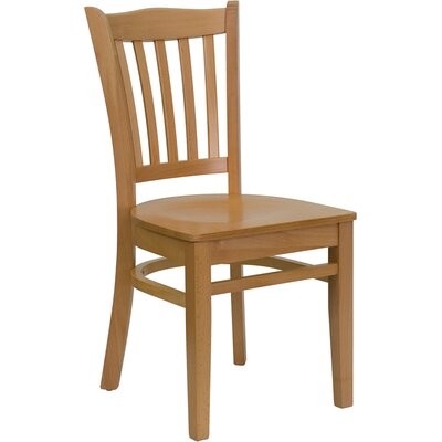 Osborne Side Chair Finish: Natural