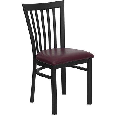 Osborne Side Chair Upholstery: Burgundy