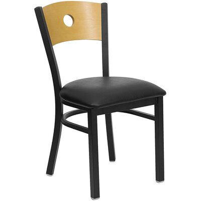 Taylor Chair Upholstery: Black