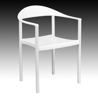 Taylor Arm Chair Finish: White