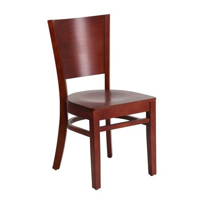 Lacey Series Side Chair Finish: Mahogany