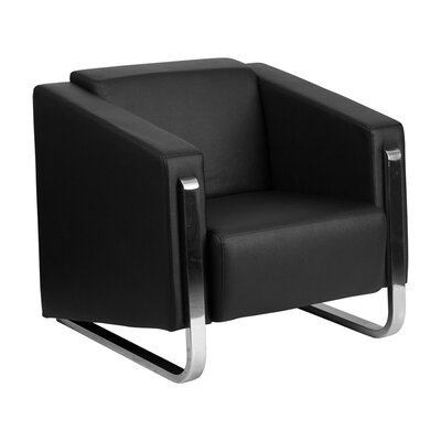 Hercules Gallant Series Leather Reception Chair