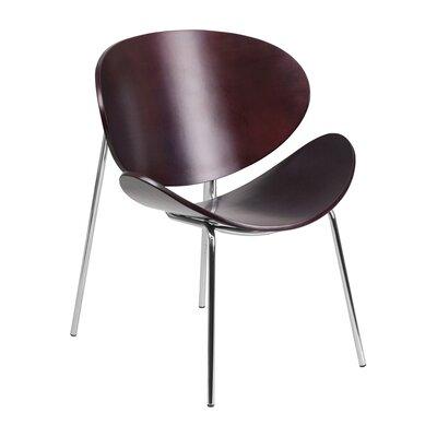 Leisure Reception Chair Finish: Mahogany