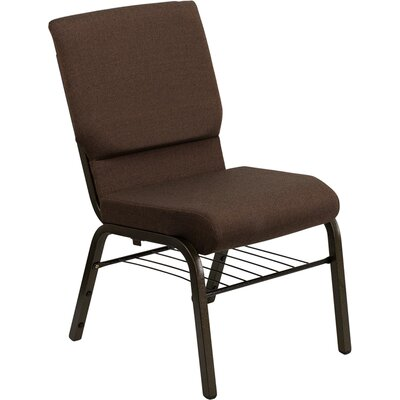 Taylor Church Chair Frame Finish: Gold Vein, Seat Color: Brown